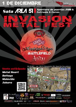 INVASION METAL FEST 2012