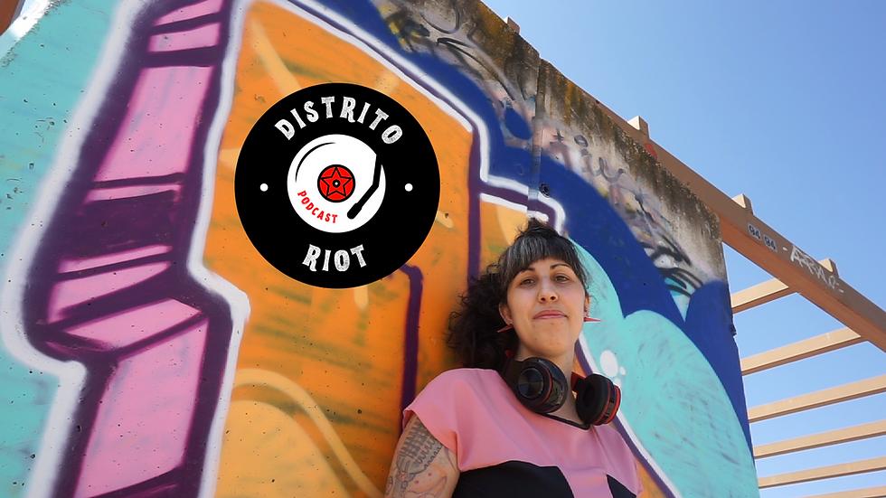 Podcast Distrito Riot - musica - vane balon - zaest podcasting - distrito uve - censo riot
