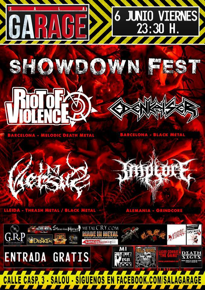 SHOWDOWN FEST SALOU