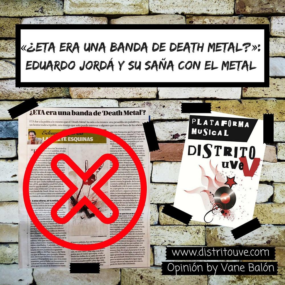 Eduardo Jordá eta death metal