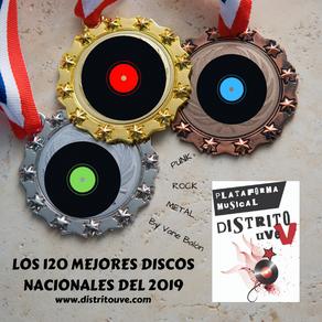 LOS 120 MEJORES DISCOS DEL 2019 BY DISTRITO UVE: IMPRESCINDISCOS ROCK, METAL Y PUNK NACIONAL