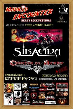 FESTIVAL MADRID ENCOUNTER HEAVY ROCK