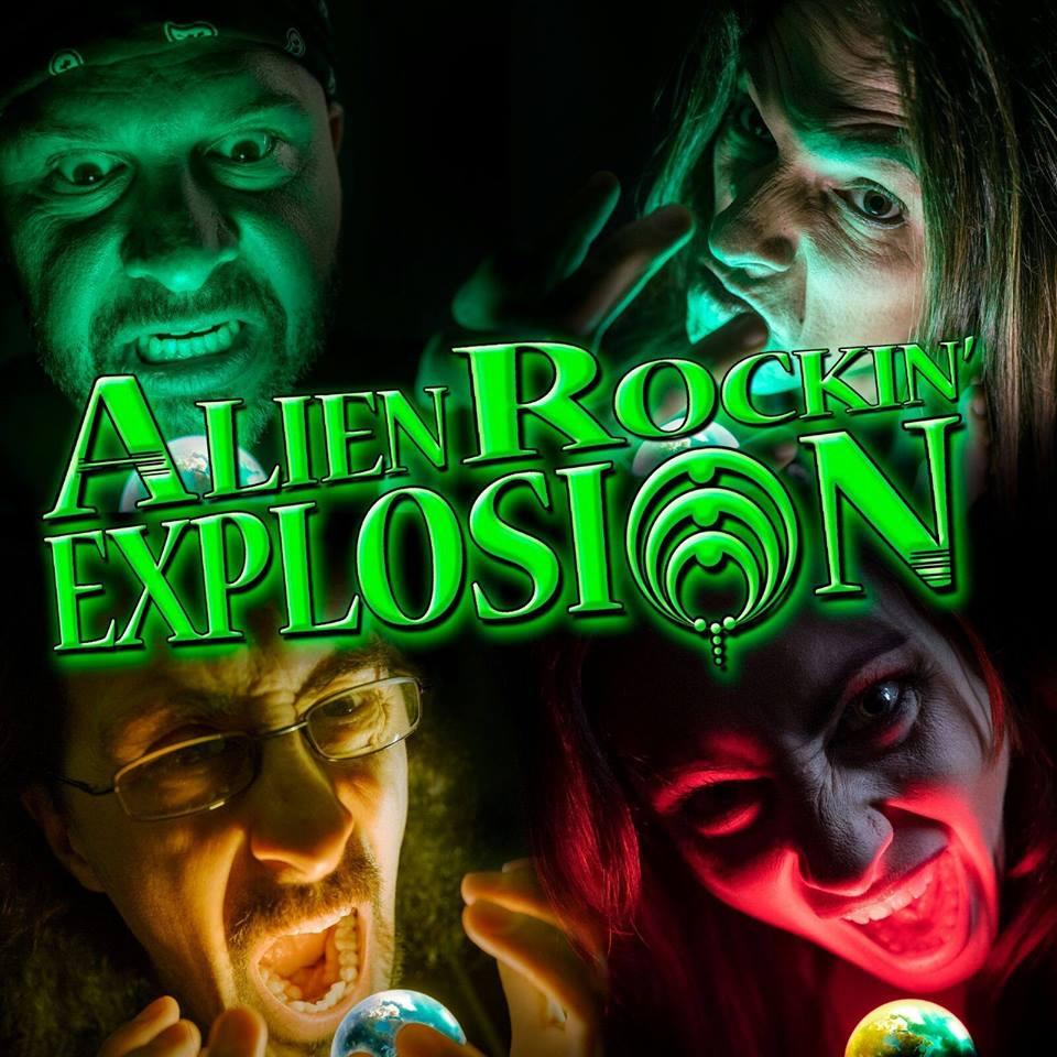 alien rockin explosion