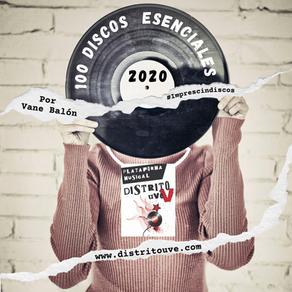 MÁS DE 100 DISCOS DEL 2020 ESENCIALES EN UN SOLO CLICK: ESPECIAL IMPRESCINDISCOS DISTRITO UVE