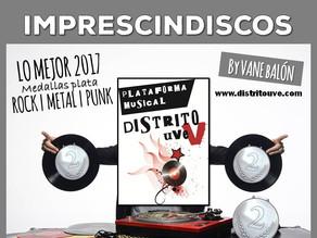 IMPRESCINDISCOS ESPECIAL 2017, MEDALLAS PLATA