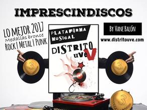 IMPRESCINDISCOS ESPECIAL 2017, MEDALLAS BRONCE