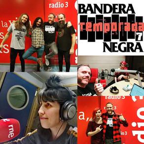 PARIS LAKRYMA EN SECCIÓN RIOT GIRL DE BANDERA NEGRA (RADIO 3 EXTRA)