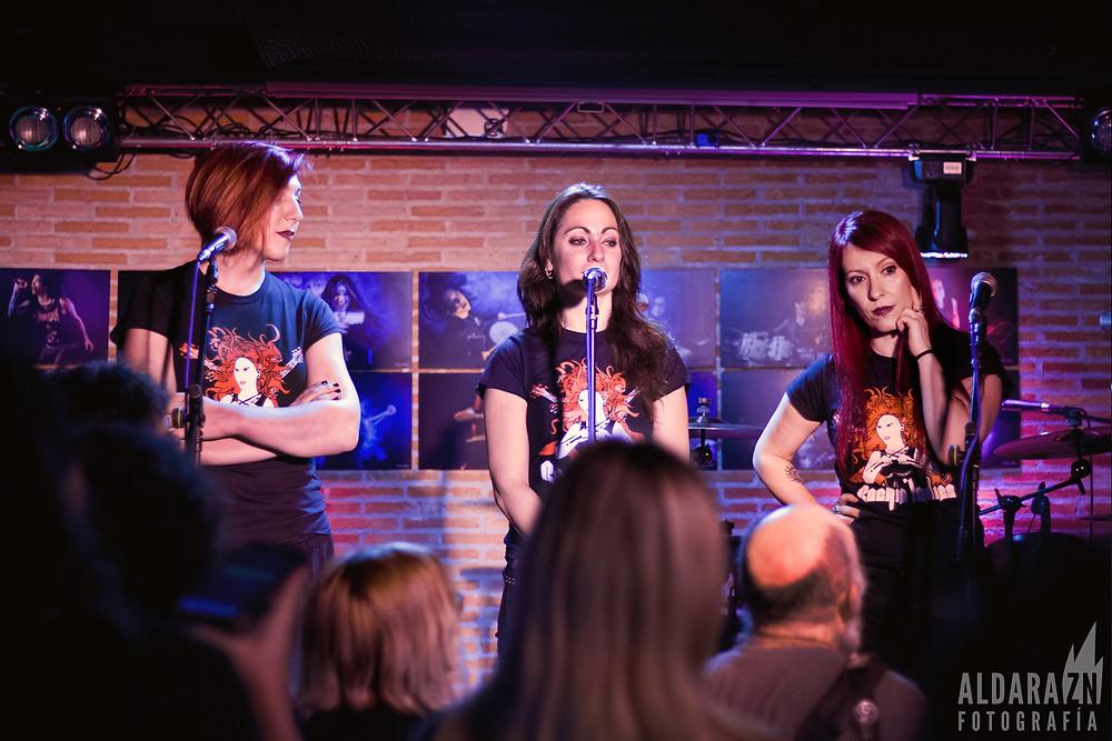 presentación de rockin' ladies