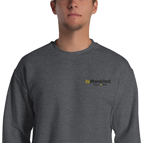 beMankind embroidered sweatshirt