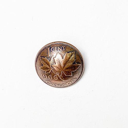 Coin Button: Canada