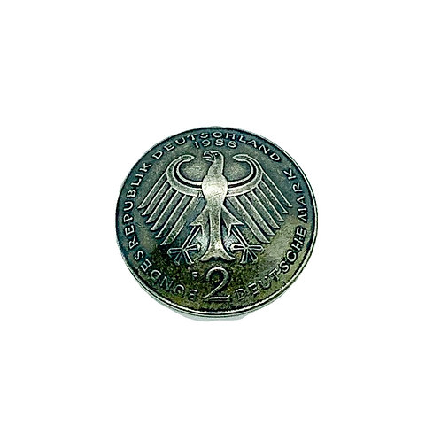 Coin Button: Germany 1988