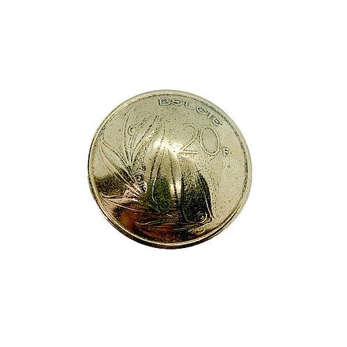 Coin Button: Belgium