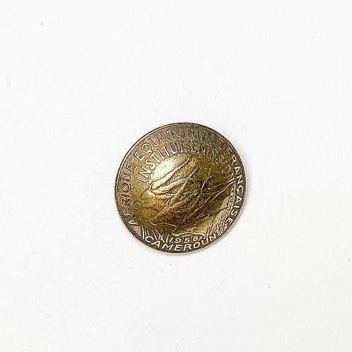 Coin Button: Cameroun 1958