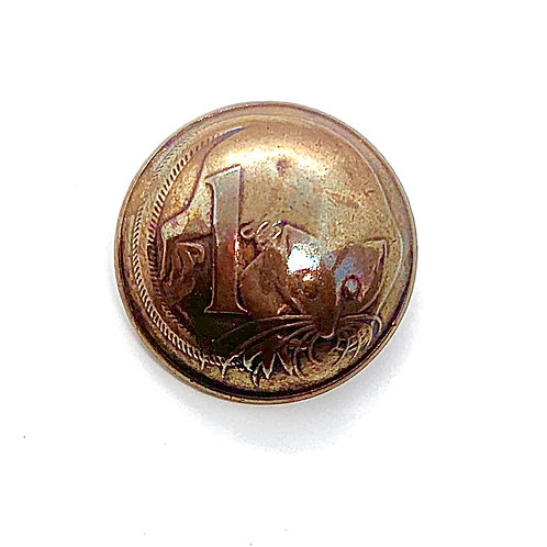 Coin Button: Australia 1977
