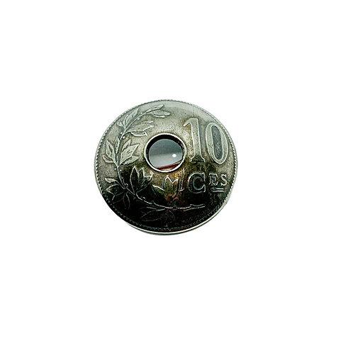 Coin Button: Belgium 1905