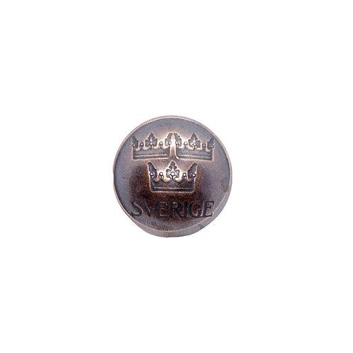 Coin Button: Sweden 1972