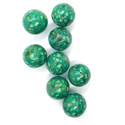 Speckled Green Jasper Rounds