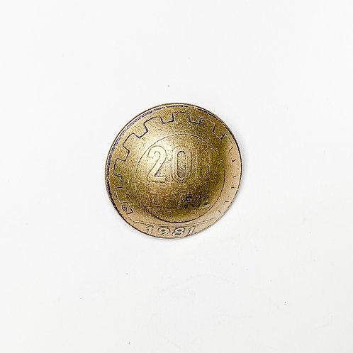 Coin Button: Italy Various Dates