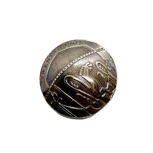 Coin Button: England 2008