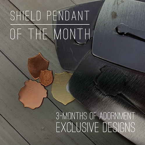 Shield Pendant of the Month