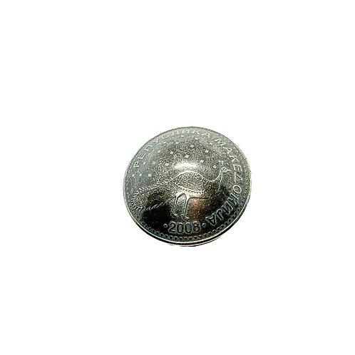 Coin Button: Macedonia 2008