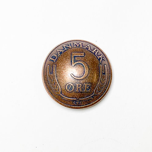 Coin Button: DenmarkVarious Years