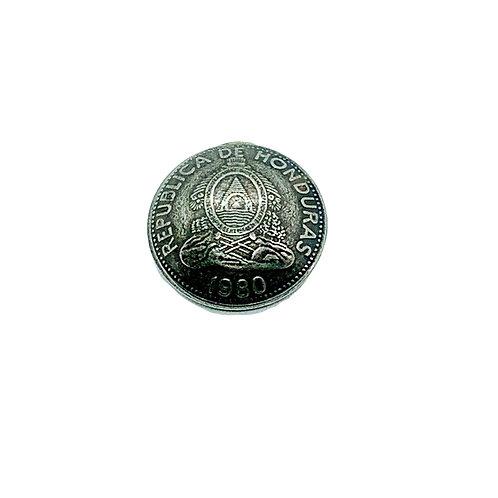 Coin Button: Honduras 1980