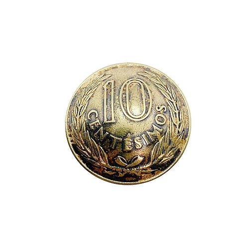 Coin Button: Uruguay 1960