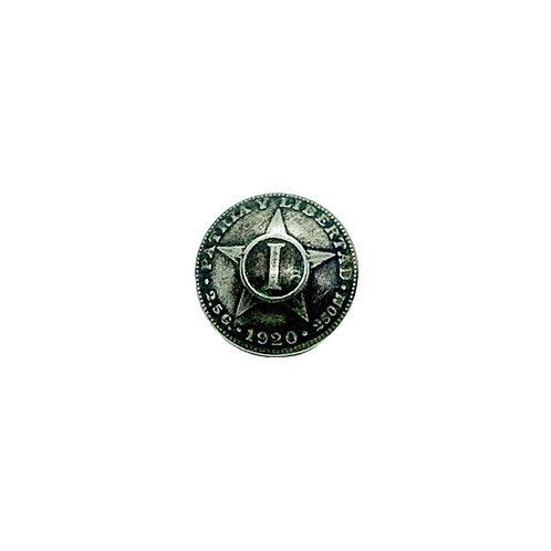 Coin Button: Patria y Liberdad Star