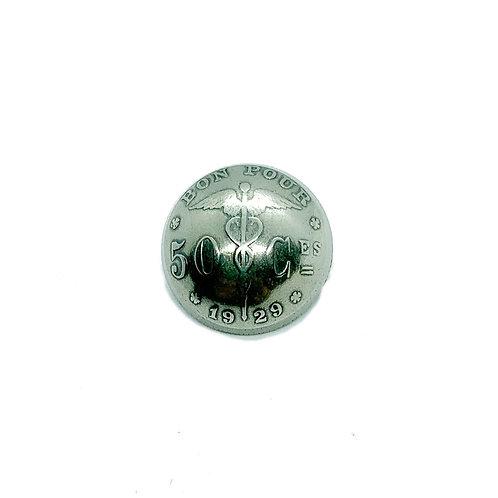 Coin Button: Belgium 1929