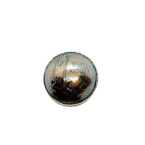Coin Button: Zambia 1983