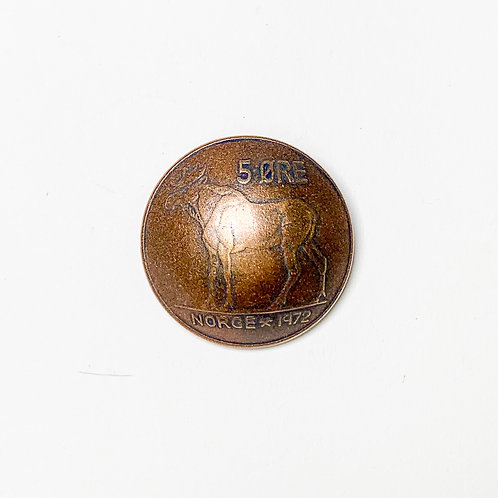 Coin Button: Norway