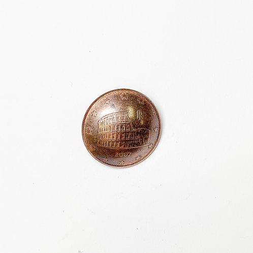Coin Button: Euro France 2002