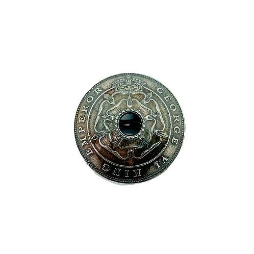 Coin Button: Rhodesia 1937