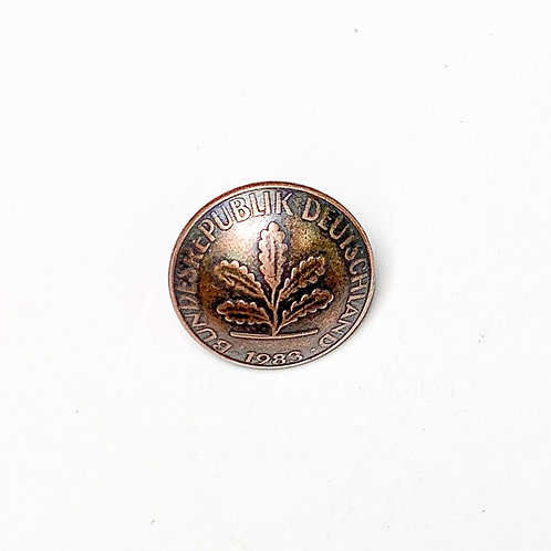 Coin Button: Germany 1983