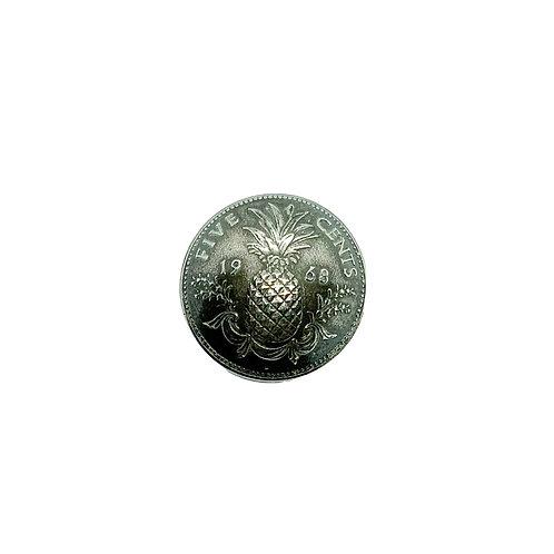 Coin Button: Bahamas 1968
