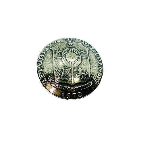 Coin Button: Philippines 1972