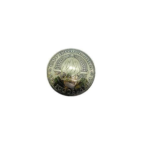 Coin Button: Yugoslavia 1977