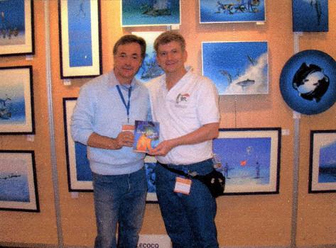 Avec le peintre du bleu : Pascal Lecoq