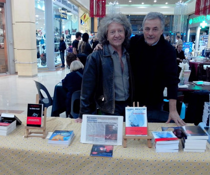 Avec Kristian à Grasse