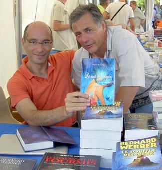Avec Bernard Werber