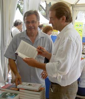 Avec Didier Van Cauwelaert 2010