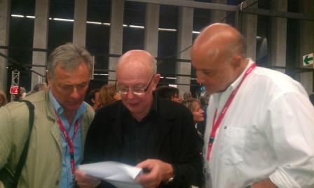 Avec JF Kahn et patrick Besson