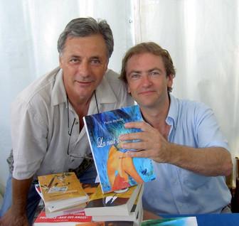 Avec Didier Van Cauwelaert 2008