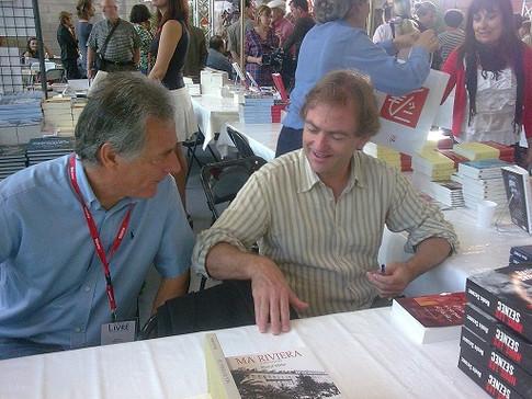 Avec Didier Van Cauwelaert 2011