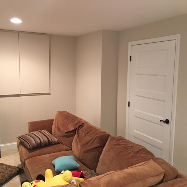 Matching door profile for basement remodel