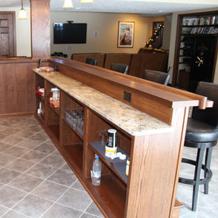 Two Level Front Bar