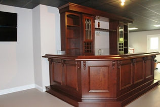 Hand built bar Cape Cod Massachusetts