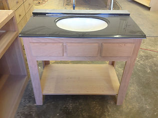 Custom built bathroom vanities Medina Ohio