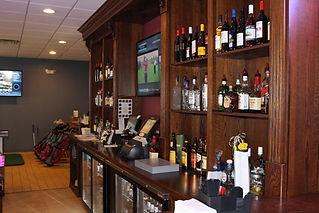 Commercial back bar display